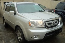 Foreign Used Honda Pilot 2009 Model Silver