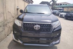 Tokunbo Toyota Land Cruiser Prado 2019 Model Black