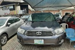 Nigeria Used Toyota Highlander 2008 Model Gray