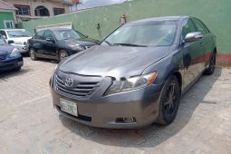 Nigeria Used Toyota Camry 2007 Model Gray