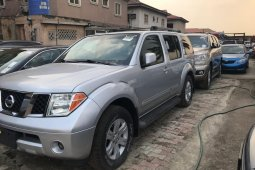 Foreign Used Nissan Pathfinder 2006 Model Silver