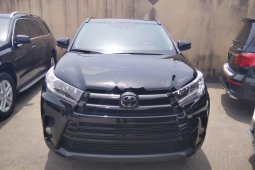 Tokunbo Toyota Highlander 2018 Model Black