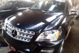 Foreign Used Mercedes-Benz ML350 2011 Model Black