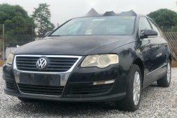 Nigeria Used Volkswagen Passat 2007 Model Black