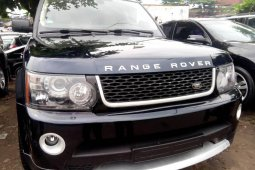 Tokunbo Land Rover Range Rover Sport 2006 Model Black
