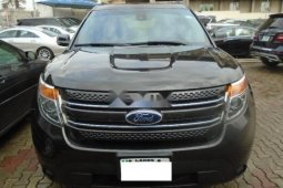 Nigeria Used Ford Explorer 2013 Model Gray