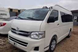 Foreign Used Toyota HiAce 2011 Model White