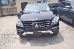 Tokunbo Mercedes-Benz ML350 2015 Model Black