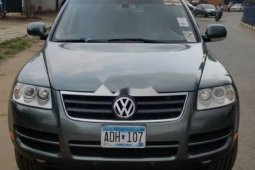 Foreign Used 2007 Grey Volkswagen Touareg for sale in Lagos.