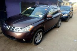 Foreign Used Nissan Murano 2004 Model Brown