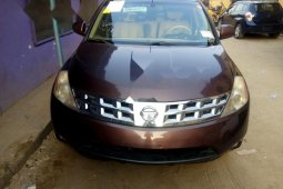 Tokunbo Nissan Murano 2004 Model Brown