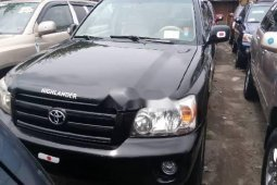 Foreign Used Toyota Highlander 2006 Model Black