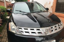 Nigeria Used Nissan Murano 2004 Model Black