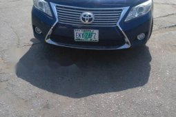 Nigeria Used Toyota Camry 2010 Model Blue