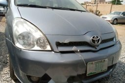 Nigeria Used Toyota Verso 2004 Model Gray