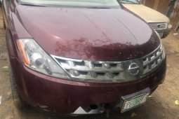 Nigeria Used Nissan Murano 2005 Model Red