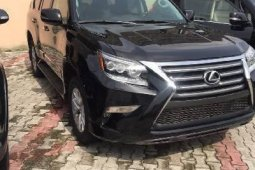 Foreign Used 2016 Black Lexus GX for sale in Lagos