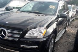 Tokunbo Mercedes-Benz GL-Class 2012 Model Black