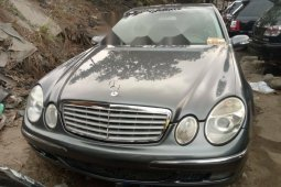 Foreign Used Mercedes-Benz E350 2006 Model Gray