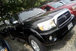 Foreign Used Toyota Tacoma 2006 Model Black