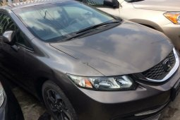 Foreign Used Honda Civic 2013 Model Gray