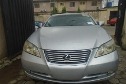 Foreign Used Lexus ES 2008 Model Silver