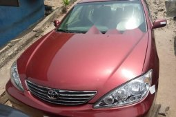 Foreign Used Toyota Camry 2005 Model Red