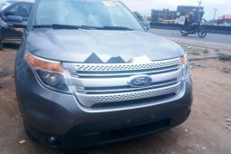 Foreign Used 2013 Grey Ford Explorer for sale in Lagos