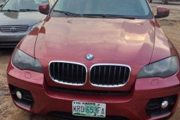Locally Used 2008 Red BMW X6 for sale in Lagos