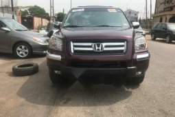 Foreign Used 2006 Honda Pilot for sale in Lagos