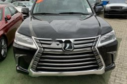 Brand New 2017 Black Lexus LX for sale in Lagos.
