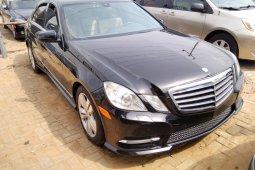 Tkunbo 2011 Black Mercedes-Benz E350 for sale in Lagos