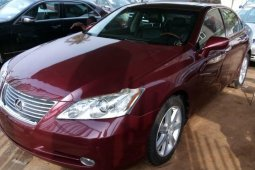 Foreign Used 2008 Red Lexus ES for sale in Lagos.