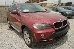 Nigeria Used BMW X5 2008 Model Red