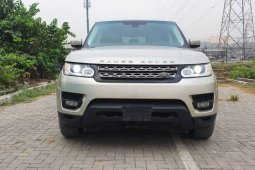 Foreign Used Land Rover Range Rover Sport 2014 Model Silver