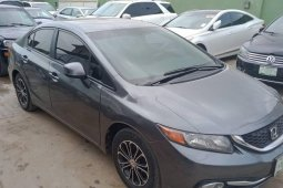 Nigeria Used Honda Civic 2013 Model Gray