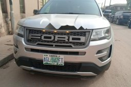 Nigeria Used Ford Explorer 2016 Model Silver