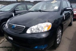 Foreign Used 2006 Black Toyota Corolla for sale in Lagos.