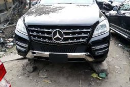 Foreign USed Mercedes-Benz ML350 2014 Model