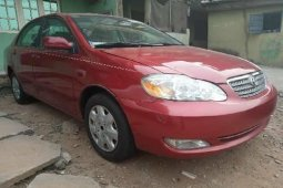Clean Tokunbo Toyota Corolla 2007 Model