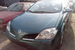 Foreign Used Nissan Primera 2005 Model Gray