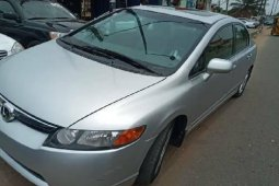 Foreign Used Honda Civic 2007 Model Silver