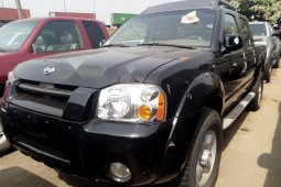 Foreign Used Nissan Frontier 2004 Model Black