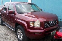 Naija Used 2007 Maroon Honda Ridgeline for sale in Lagos