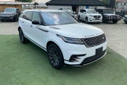 Brand New 2018 White Land Rover Range Rover for sale in Lagos.