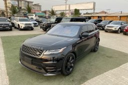 Brand New 2018 Black Land Rover Range Rover for sale in Lagos.