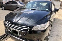 Nigeria Used Peugeot 301 2014 Model Black