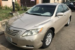 Naija Used Toyota Camry 2007 Model for sale