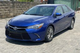 Foreign Used 2016 Blue Toyota Camry for sale in Lagos