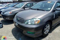 Foreign Used 2007 Grey Toyota Corolla Sport for sale in Lagos.